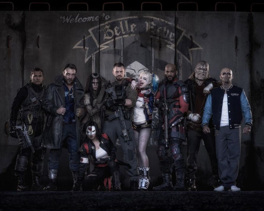 Suicide Squad in costume