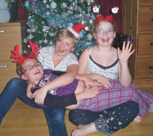 kids xmas 2009